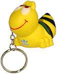 Bee Key Chain Stress Balls